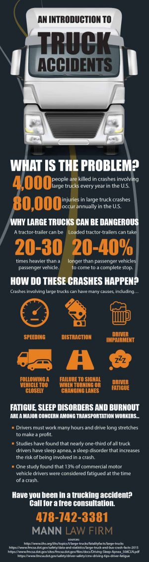 Reasons for Truck Accidents