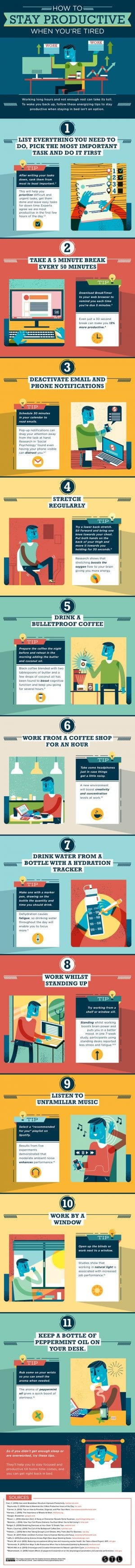 How To Stay Productive When You're Tired
