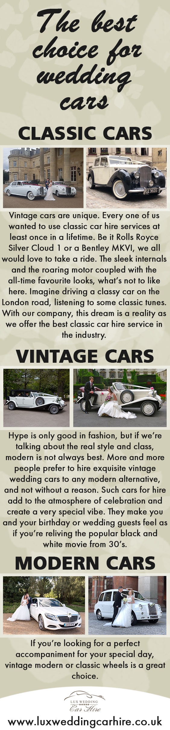 The Best Choice for Wedding Cars