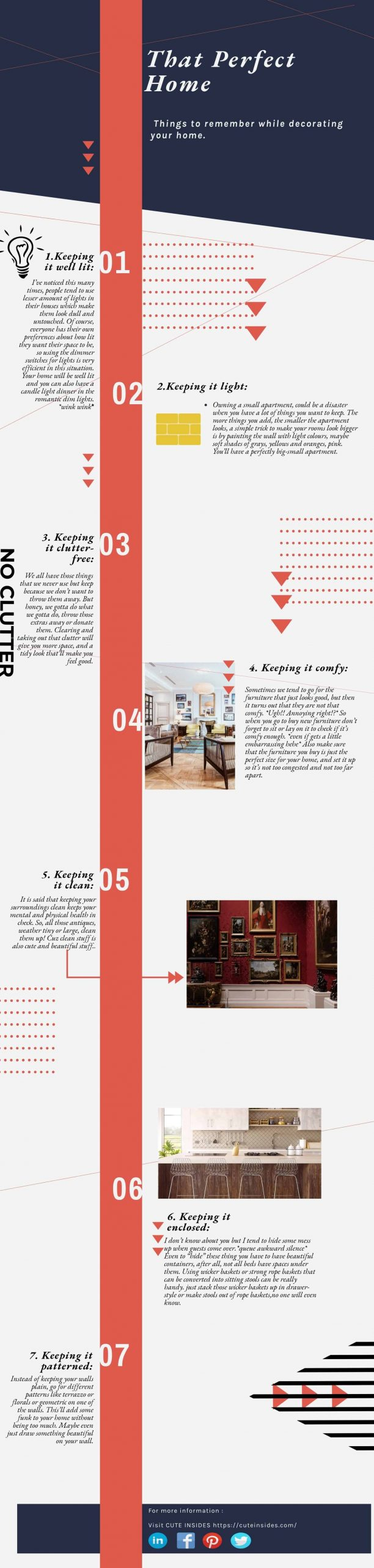 Things to remember while decorating or renovating your home