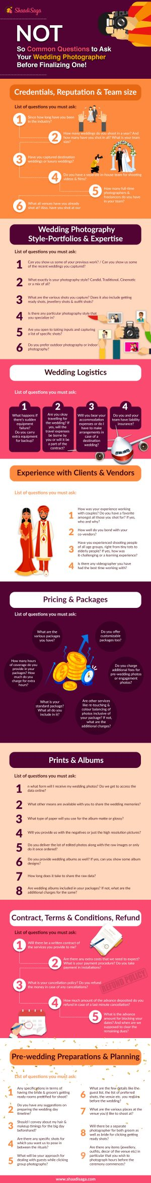 How to Hire The Best Wedding Photographer - Ultimate Guide