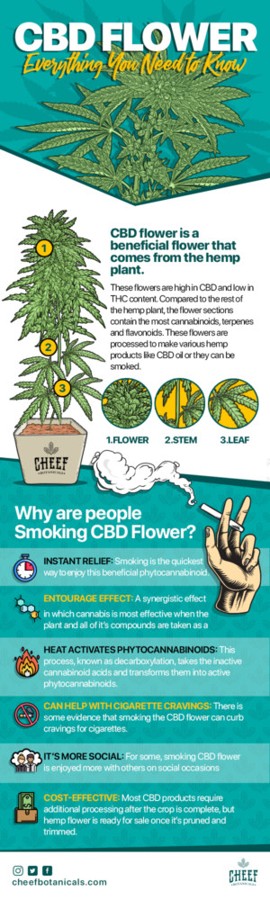 CBD Flower - All the benefits without the high