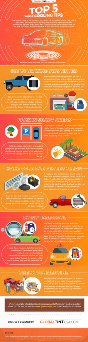Top 5 Car Cooling Tips