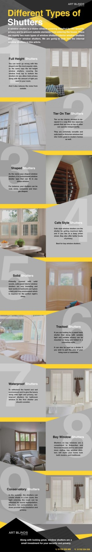 Different Types of Window Shutters