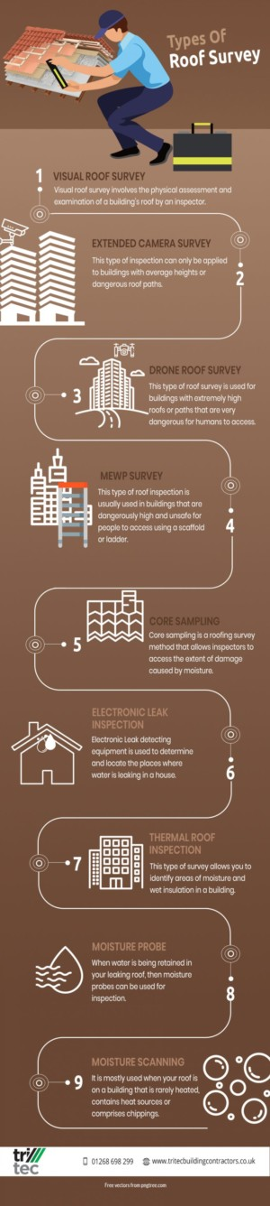 Different Types Of Roof Survey